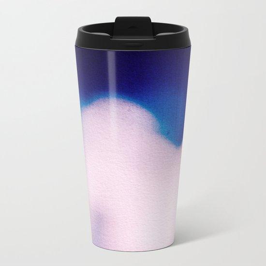 BLUR / clouds Metal Travel Mug