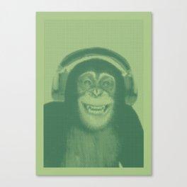 The Crazy Monkey Project Canvas Print