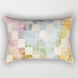 Watercolor I Rectangular Pillow