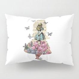 Alice In Wonderland Magical Garden - Vintage Book Pillow Sham