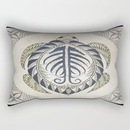 Sacred Turtle Rectangular Pillow