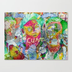 yes you are Canvas Print