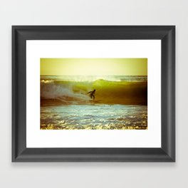 Pete's Wave Framed Art Print