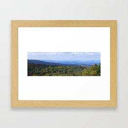 Shenandoah National Park Panorama2 Framed Art Print