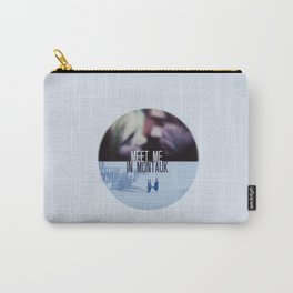 MEET ME IN MONTAUK (ETERNAL SUNSHINE OF THE SPOTLESS MIND) Carry-All Pouch