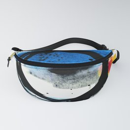 Enso Abstraction o. 113J by Kathy Morton Stanion Fanny Pack