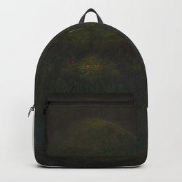Shrek (oil on canvas) Backpack