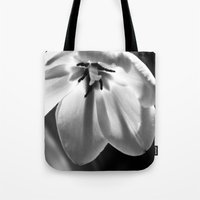 tulip Tote Bags featuring tulip by littlesilversparks