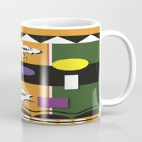 lydia martin Mugs featuring Martin  by TheArtGoon