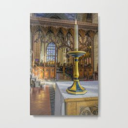 Candle Of Hope Metal Print
