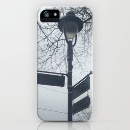Maplewood - Sign post iPhone Case