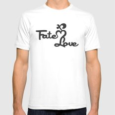 Fate Love Mens Fitted Tee White SMALL