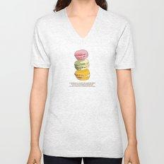 Sweet Macarons Unisex V-Neck