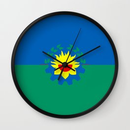 flag of Buenos Aires (Province) Wall Clock
