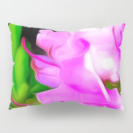 Painted Rhododendron - Pink 2 Pillow Sham