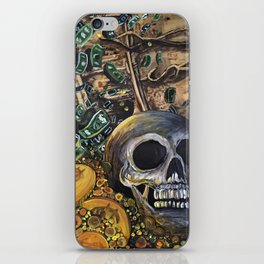 Time Is Money iPhone Skin