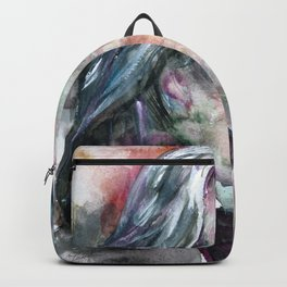 FRANZ LISZT - watercolor portrait.2 Backpack