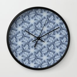 Snowcapped mountains Wall Clock
