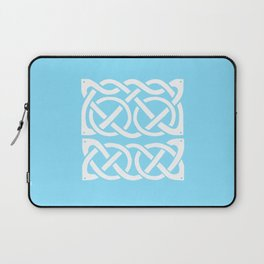 Celtic Knot Fish and Flower Laptop Sleeve