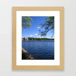 Lake Harriet, Minnesota Framed Art Print