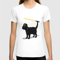 darth T-shirts featuring Cat Vader by nicebleed