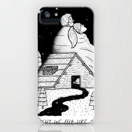 The Night We Felt Like Giants iPhone Case