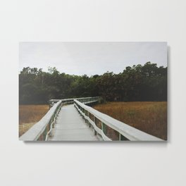 Bridge Over the Everglades Metal Print
