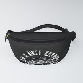 Mens I Am A Biker GrandPa design Funny Gift for Cool Grandpas Fanny Pack