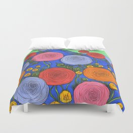 Colors in the Blue Ridge Mountains Duvet Cover