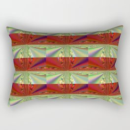 Shimmering Seasonal Colors Rectangular Pillow
