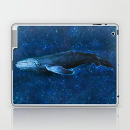 WhaleSong by AutumnSkyeART Laptop & iPad Skin
