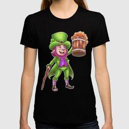 Leprechaun's Cheers for Beers T-shirt