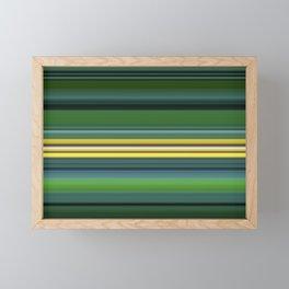 The Yellow Line Framed Mini Art Print