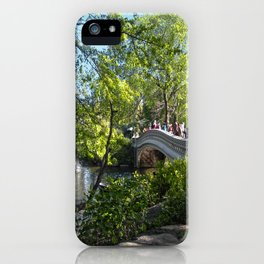 Bow Bridge- Central Park- NYC iPhone Case