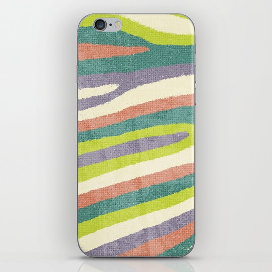 Fruit Stripes. iPhone & iPod Skin