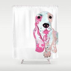 Basset Shower Curtain