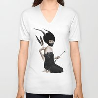ruben V-neck T-shirts featuring Odi Et Amo by Ruben Ireland