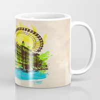 chicago Mugs featuring Chicago by Badamg