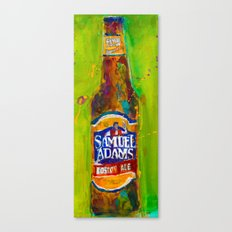 Samuel Adams Boston Lager Canvas Print