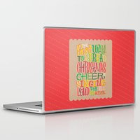 elf Laptop & iPad Skins featuring Elf by Jillian Kaye