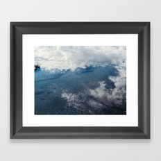 Reflected Sky Framed Art Print