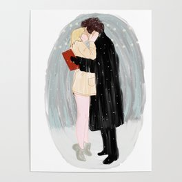 Bridget Jones Kiss Poster