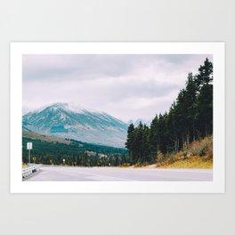 Alaska's Seward Highway Art Print