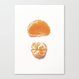 Mini clementine Canvas Print