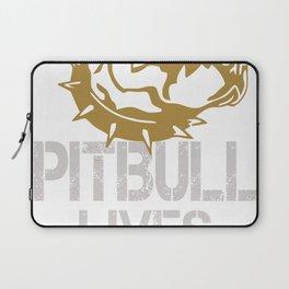 Pitbull Lives Matter Laptop Sleeve