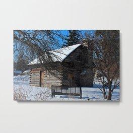 Peter Navarre Cabin IV Metal Print