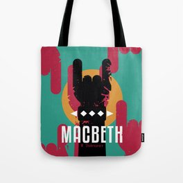 Macbeth by Shakespeare Tote Bag