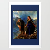 narnia Art Prints featuring Narnia by Whelan Galleries