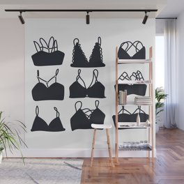 Bralettes Wall Mural