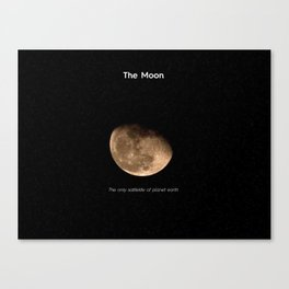 Mr. Moon Canvas Print